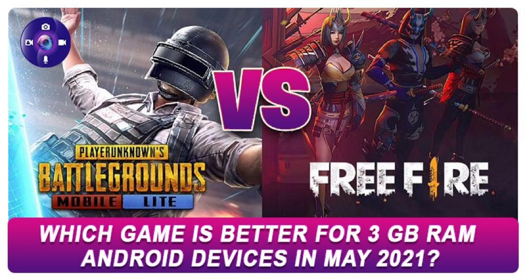 PUBG Mobile Lite vs Free Fire: Which Game Is Better For 3 GB RAM Android Devices In May 2021?