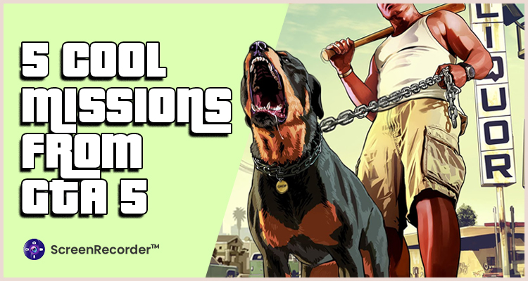 5 COOL MISSIONS FROM GTA 5