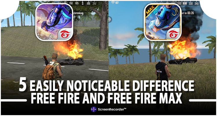 5 Easily Noticeable Differences Between Free Fire and Free Fire Max