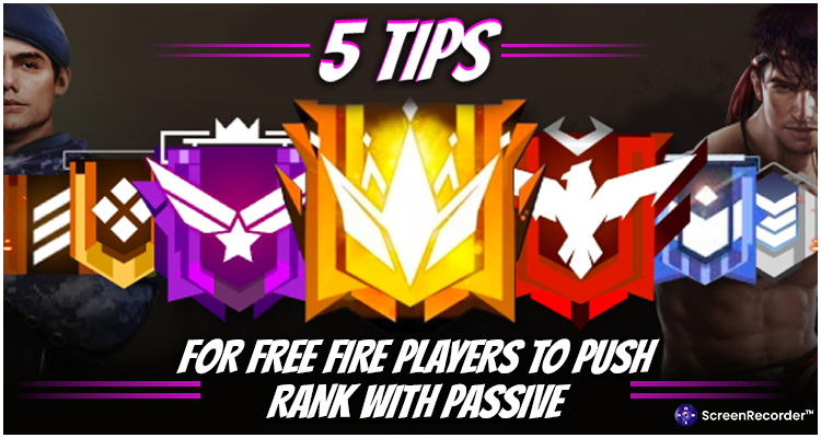 5 Tips For Free Fire Players To Push Rank With Passive
