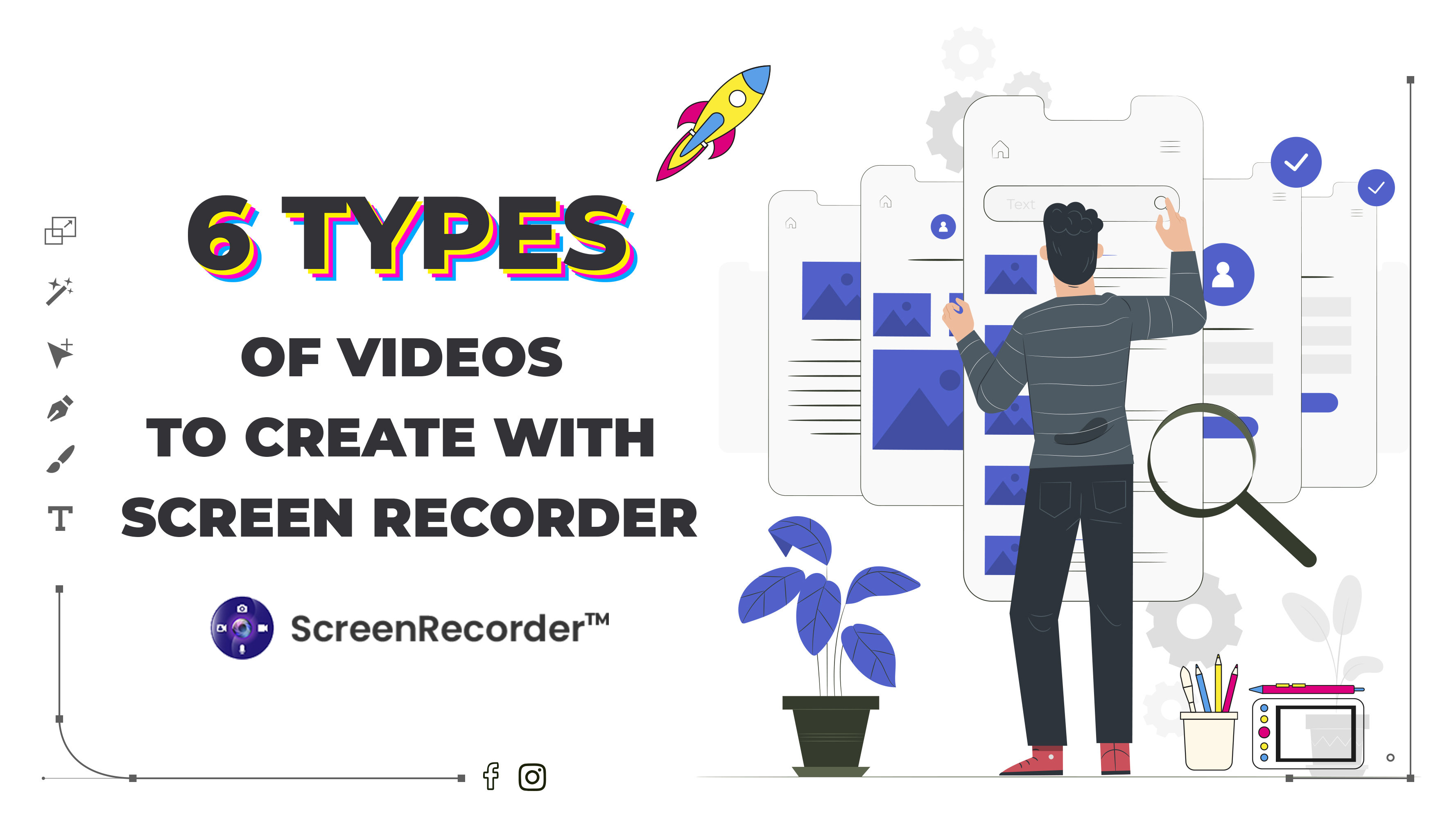 6 Types Of Videos To Create With Screen Recorder