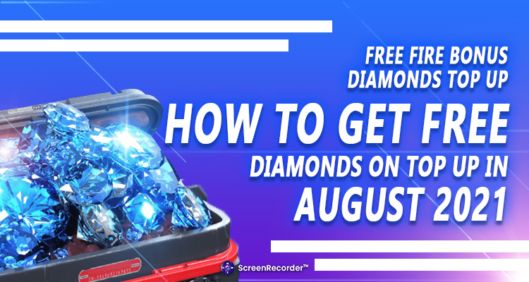 Free Fire Bonus Diamonds Top Up: How To Get Free Diamonds On Top-Up In August 2021