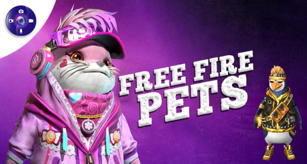 Garena Free Fire Pets