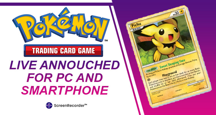 Pokémon Trading Card Game Live Announced for PC and Smartphones