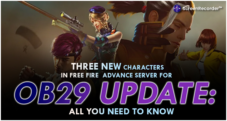 Three New Characters In Free Fire Advance Server For OB29 Update: All You Need To Know
