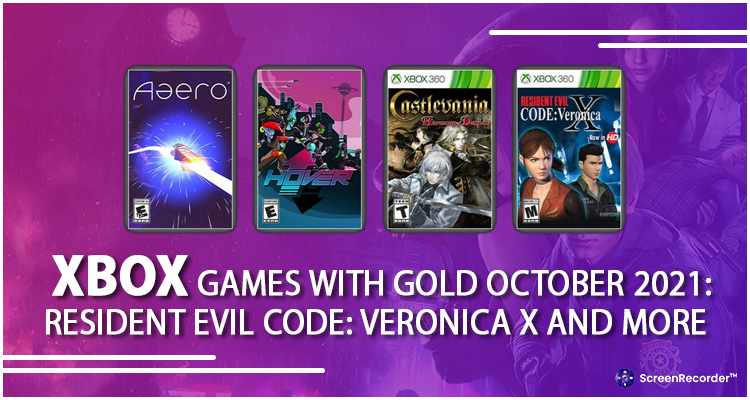 Xbox Games With Gold October 2021: Resident Evil Code: Veronica X and More